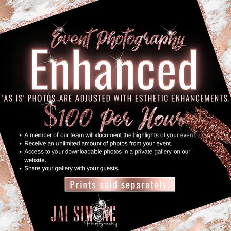 Event Photography Enhanced flyer