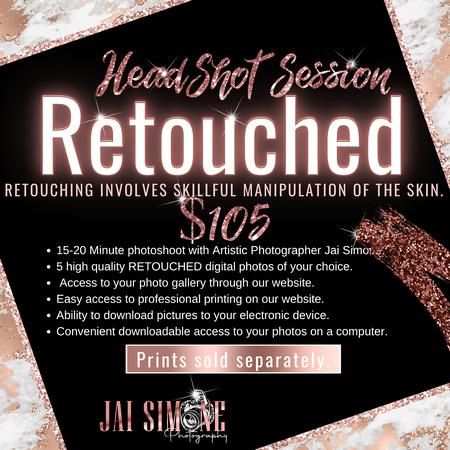 HEADSHOT RETOUCHED $105